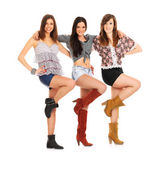 Country Girls — Stock Photo