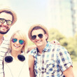 Group of happy friends — Stock Photo #50333449