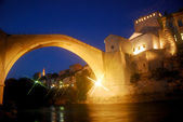 The Old Bridge, Mostar, Bosnia-Herzegovina — Stock Photo