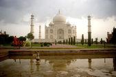 Taj Mahal, Agra, India — Foto Stock