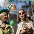 St. Patrick Day, Budapest, Hungary — Stock Photo