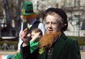 St. Patrick Day, Budapest, Hungary — Stock Photo