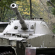 Stock Photo: PT-76 Soviet tank, Warszawa, Poland