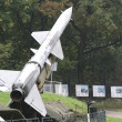 Missile launcher, Warszawa, Poland — Stock Photo