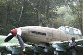 Terra de il-10 aviões de ataque, warszawa, polónia — Fotografia Stock