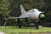 MIG-21 Soviet fighter, Warszawa, Poland — Stockfoto