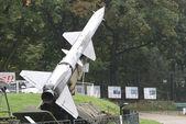 Missile launcher, Warszawa, Poland — Stock Photo