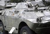 BRDM-2 armored reconnaissance vehicle, Warszawa, Poland — Stock Photo