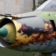 Постер, плакат: Sukhoi SU 22 supersonic fighter Warszawa Poland