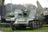 Sexton MK.2 motorized gun, Warszawa, Poland — Stock Photo
