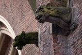 Gargoyles, Eindhoven, The Netherlands — Stock Photo