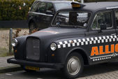 Taxi, Eindhoven, The Netherlands — Stock Photo