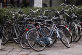 Bicycles, Eindhoven, The Netherlands — Stock Photo
