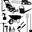 Stock Vector: Garden equipment 3