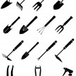 Royalty-Free Stock Vector Image: Garden equipment