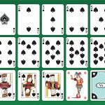 Spades Cards — Stock Vector