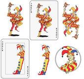 Joker playing card — Stock Vector