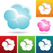 cloud icons — Stock Vector #30961571
