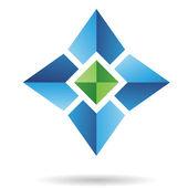 Abstract Logo Icon — Stock Vector