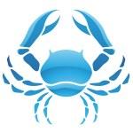 Cancer Zodiac Star Sign — Stock Vector #35467917