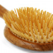 Stock Photo: Wood hairbrush