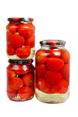 Canned tomatoes — Stock Photo