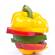 Sweet Pepper, Bell Pepper, Capcicum — Foto de Stock