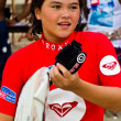 Anissa Flynn in Quiksilver Open Phuket Thailand 2012 — Stock Photo #12879387