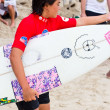 Anissa Flynn in Quiksilver Open Phuket Thailand 2012 — Stock Photo