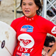 Anissa Flynn in Quiksilver Open Phuket Thailand 2012 — Stock Photo #12879939