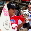Stock Photo: Anissa Flynn in Quiksilver Open Phuket Thailand 2012