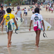 Quiksilver Open Phuket Thailand 2012 — Stock Photo