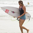 Stephanie louise gilmore, campeão do mundo de asp world tour das mulheres — Fotografia Stock  #12948395