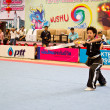 Wushu gun shu competition at  National Youth Games, Phuket 2012 — Stock Photo