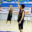 CLS Knights from indonesia in Basketball TOA Thailand Open Phuket Championship 2012 - Stock Photo