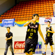 CLS Knights from indonesia in Basketball TOA Thailand Open Phuket Championship 2012 — Stock Photo