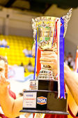Team Unity from USA securing a gold medal in TOA Thailand Open 2012 Phuket Championship — Stock Photo