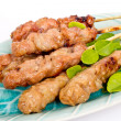 Thai style grilled pork — Stock Photo