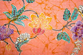 Vintage traditional Thai handmade fabric texture background — Stock Photo