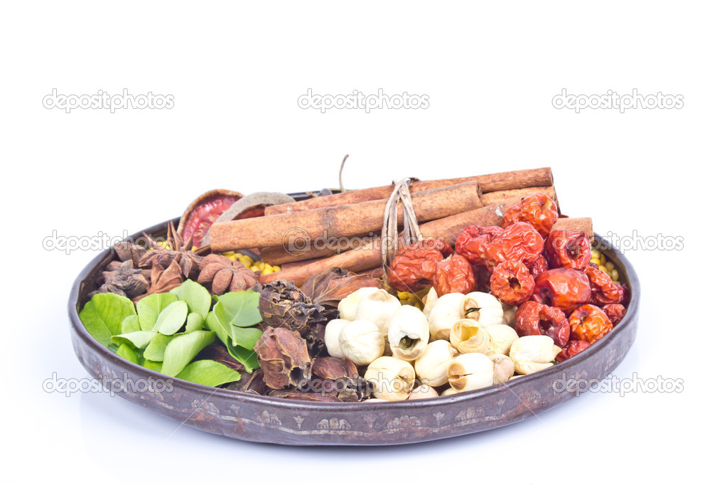 Local thai Spice   Stock Photo #13281043