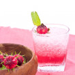 Roselle juice with dried Roselle flower — Stockfoto