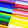 Many color of color pencils — Stock Photo