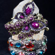 A bracelet is an article of jewelry that is worn around the wris — Stock Photo