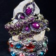 Stock Photo: A bracelet is an article of jewelry that is worn around the wris