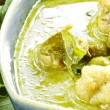 Chicken green curry - Stock Photo