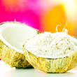 Ripe coconut - Stock Photo