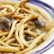 Fried mushroow with Oyster sauce — Stock Photo