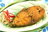 タイの揚げ魚 — ストック写真