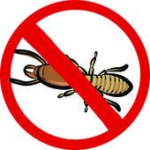 термиты насекомых эмблема — Cтоковый вектор