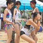 Kata beach, Phuket Thailand - September 6: Unidentified particip — Stock Photo #31285001